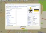 Wygląd informacji z Wikipedii na mapie Targeo.pl