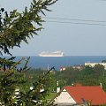 Crown Princess na Zatoce Gdańskiej #CrownPrincess #statek #Gdynia #port #Hel