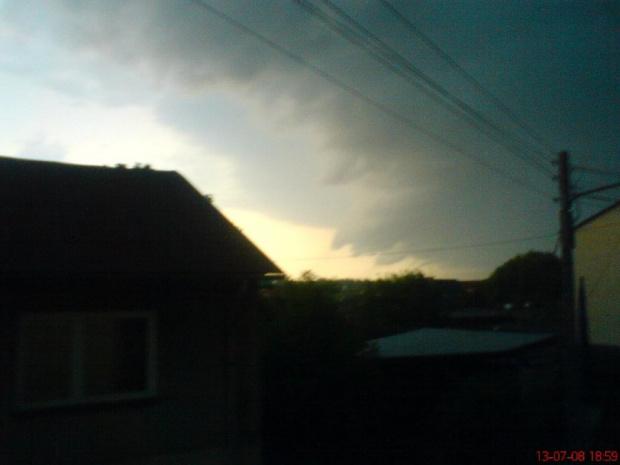 burza w Tomaszowie #burza #Łódzkie #TomaszówMazowiecki #chmura #pogoda