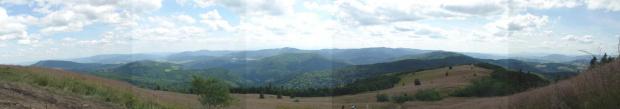 Panorama ze Stumorgowej Polany pod Mogielicą #góry #mogielica #BeskidWyspowy #widok #panorama