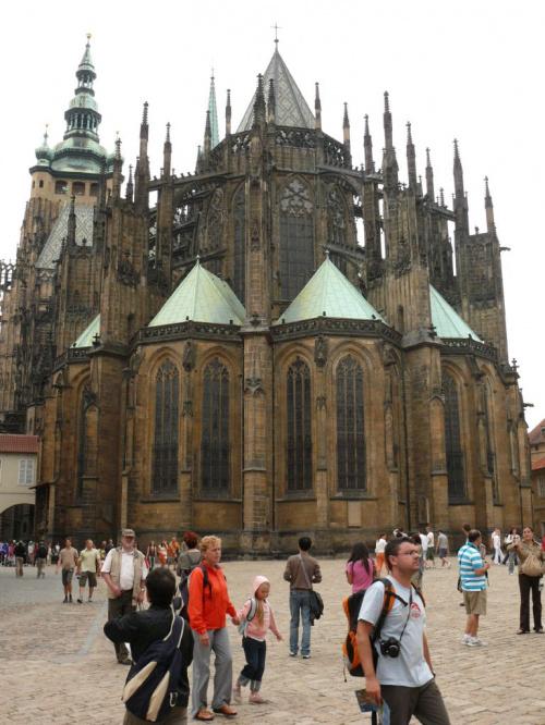 Gotycka Katedra Św. Wita #Praga