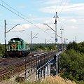 SM42-362 pokonuje most na rzeką Prosną udając sie na stację w Kaliszu. Podg Piwonice - pbsp Kalisz Winiary #smród #smrodek #wibrator #stonka #lokomotywa