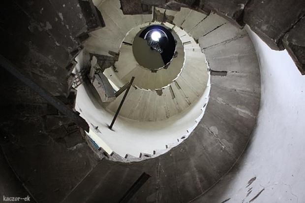 #schody #ruina #WieżaCiśnień #ślimak #brodnica