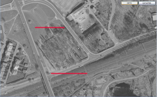 Cmentarz szpitala Dziekanka http://maps.geoportal.gov.pl