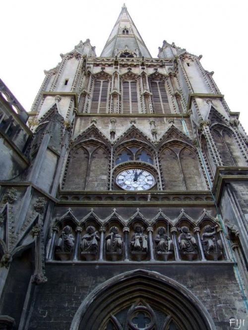 Potężna katedra w Bristolu #Budowle