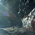 skała w okolicach Szklarskiej Poręby #widok #SzklarskaPoręba #zima #roztopy #skała #krajobraz #natura #przyroda