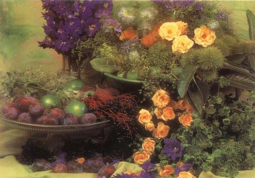 Róże i owoce dla mojej Miłej i Wspaniałej Przyjaciółki, Kroplideszczu